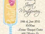 Mimosa themed Bridal Shower Invitations Mimosa Bridal Shower Brunch Invitation You Print 2 to