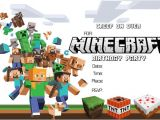Minecraft Birthday Party Invitations Templates Free 41 Printable Birthday Party Cards & Invitations for Kids