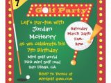 Miniature Golf Birthday Party Invitations Personalized Mini Golf Invitations Custominvitations4u Com