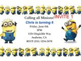 Minion Birthday Party Invitations Templates 16 Best Minion Tattoos Images On Pinterest Minion Tattoo