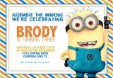 Minion Birthday Party Invitations Templates Free Printable Minion Birthday Party Invitations Ideas