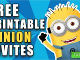 Minion Birthday Party Invites Create Own Minion Birthday Invitations Modern Templates