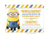 Minion Party Invitations Uk Birthday Free Printable Minion Birthday Party
