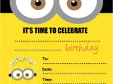 Minion Party Invitations Uk Despicable Me Minions Party Invitations Kids Childrens
