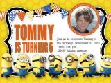 Minion Party Invitations Uk Minion Birthday Invitations Uk Invitations Card Review