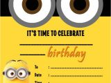 Minions Party Invites Despicable Me Minions Party Invitations Kids Children 39 S
