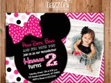 Minnie Mouse 2nd Birthday Invitation Wording Printable Minnie Mouse Birthday Invitation Girls First