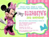 Minnie Mouse 3rd Birthday Invitation Wording Minnie Mouse Birthday Quotes Quotesgram