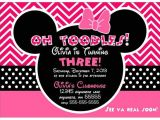 Minnie Mouse 3rd Birthday Invitations 25 Best She S Turning Two Images On Pinterest