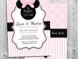 Minnie Mouse Baby Shower Invitation Minnie Mouse Baby Shower Invitation Printable Invite Pink
