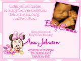 Minnie Mouse Baby Shower Invitation Minnie Mouse Baby Shower Invitations Template