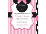 Minnie Mouse Baby Shower Invitations Free Baby Shower Invitation Template Minnie Mouse