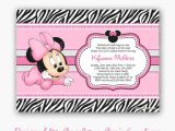 Minnie Mouse Baby Shower Invitations Free Free Printable Baby Minnie Mouse Baby Shower Invitation