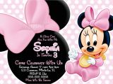 Minnie Mouse Baby Shower Invitations Free Free Printable Baby Minnie Mouse Invitations Yourweek