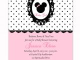 Minnie Mouse Baby Shower Invitations Free Minnie Mouse Baby Shower Invitations Free Templates