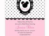 Minnie Mouse Baby Shower Invites 10 Best Minnie Mouse Baby Shower Invitations Walmart
