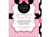 Minnie Mouse Baby Shower Invites Baby Shower Invitations Minnie Mouse