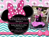 Minnie Mouse Bowtique Birthday Invitations Custom Minnie Mouse Bowtique Invitation Printable