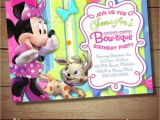 Minnie Mouse Bowtique Birthday Invitations Minnie Mouse Bowtique Birthday Invitations