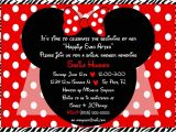 Minnie Mouse Bridal Shower Invitations 2fungraphics On Etsy