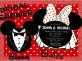 Minnie Mouse Bridal Shower Invitations Mickey & Minnie Mouse Bridal Shower Invitations by