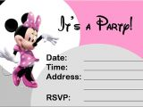 Minnie Mouse Party Invitation Template 23 Awesome Minnie Mouse Invitation Templates Psd Ai