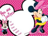 Minnie Mouse Party Invitation Template 32 Minnie Mouse Birthday Invitation Templates Free