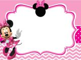 Minnie Mouse Party Invitation Template Minnie Mouse Free Printable Invitation Templates
