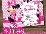 Minnie Mouse Party Invitations Diy 11 Minnie Mouse Birthday Invitations Psd Vector Eps