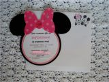 Minnie Mouse Party Invitations Diy Minnie Mouse Birthday Invitations Diy Invitation Librarry