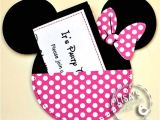 Minnie Mouse Party Invitations Diy Minnie Mouse Birthday Party Ideas Pink Lover