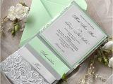 Mint Color Wedding Invitations Mint Green Wedding Invitations Kinderhooktap Com