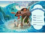 Moana Birthday Invitation Template Free 17 Best Images About Birthday Party Invitations Free