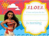 Moana Birthday Invitation Template Free Free Printable Moana Birthday Invitation and Party Ideas