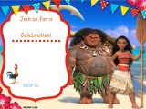 Moana Birthday Invitation Template Free Moana Birthday Invitation Template Free Invitation