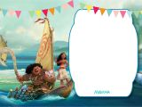 Moana Birthday Invitation Template Free Printable Moana 1st Invitation Template Bagvania