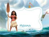 Moana Birthday Invitation Template Free Printable Moana Invitation Template Bagvania Free