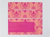 Modern Luxury Birthday Invitations Modern Luxury Wedding Invitation In Pink with Damask Print