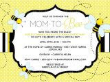 "Mommy to Bee Baby Shower Invitations Bee Baby Shower Invitation ""mom to ""bee"" Bee themed"