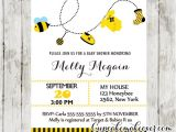 Mommy to Bee Baby Shower Invitations Mommy to Bee Baby Shower Invitation Personalized D2