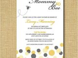 Mommy to Bee Baby Shower Invitations Mommy to Bee Printable Baby Shower Invitation