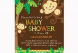 Monkey Baby Shower Invitations for Boys Personalized Jungle Monkeys Baby Shower Printable Diy