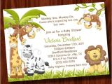 Monkey Baby Shower Invitations for Boys Twin Monkey Boy Baby Shower Invitation Printable Digital File