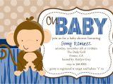 Monkey Baby Shower Invitations Templates Free Monkey Baby Shower Invitations Baby Shower Decoration Ideas