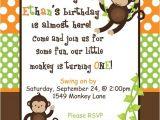 Monkey Invites First Birthday Best 25 Monkey Invitations Ideas On Pinterest Monkey