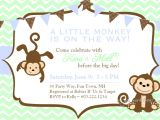 Monkey themed Baby Shower Invitations Printable Baby Shower Invitations Free Printable Baby Shower Monkey