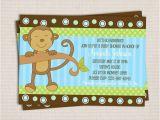 Monkey themed Baby Shower Invitations Printable Free Printable Baby Shower Invitations Monkey theme