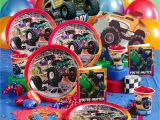 Monster Truck Birthday Invitations Party City Monster Jam Party Supplies Possibly Noah 39 S 3d Birthday