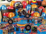 Monster Truck Birthday Invitations Party City Monster Jam Ultimate Party Pack Birthday Party Ideas