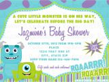 Monsters Inc Baby Shower Invites Monsters Inc Baby Shower Invitation by Rockinrompers On Etsy